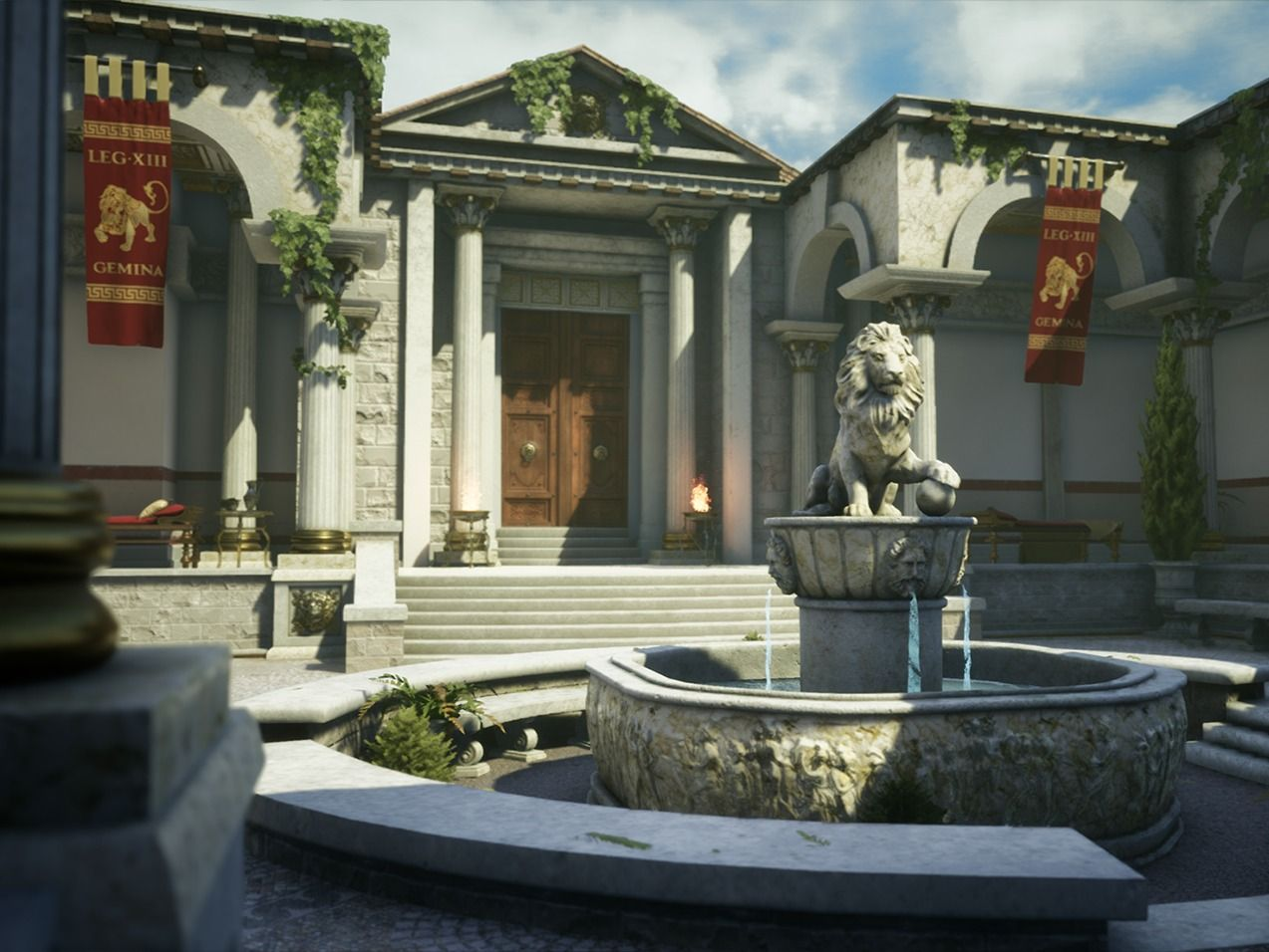 The Lion's Courtyard
