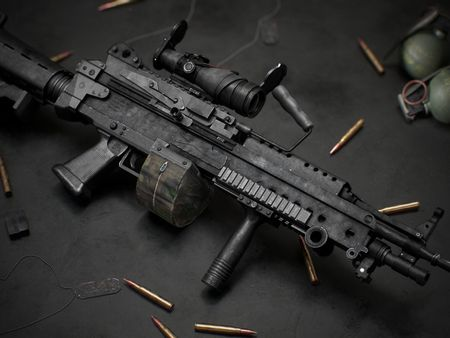 -M249- Light Machine Gun