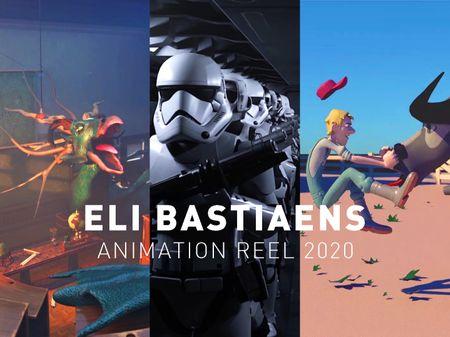 Eli Bastiaens: Animation reel 2020