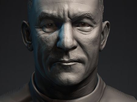 Jason Isaacs  'Lorca' Sculpt