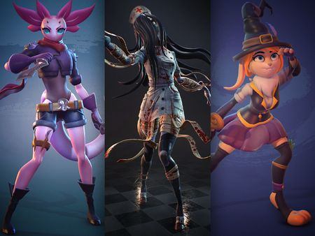 Stylized Real-time Characters