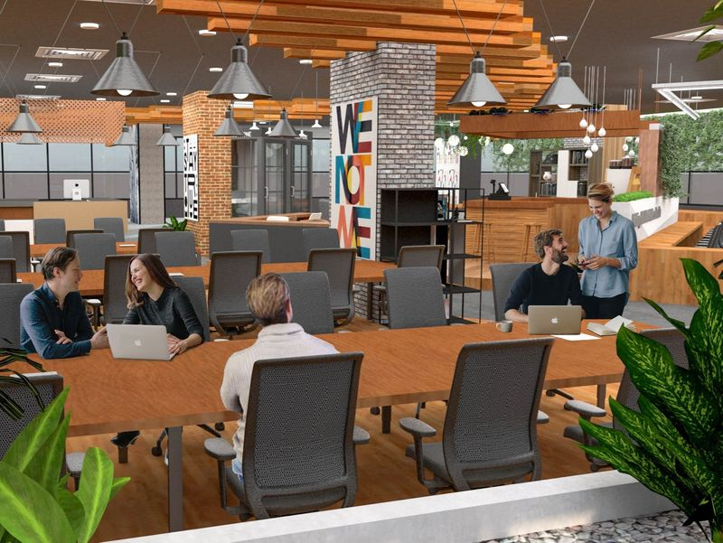 Co Working Space  for Lamitak