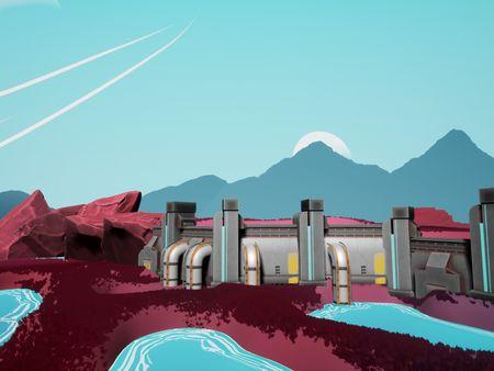 Delta-037: A Stylized Environment