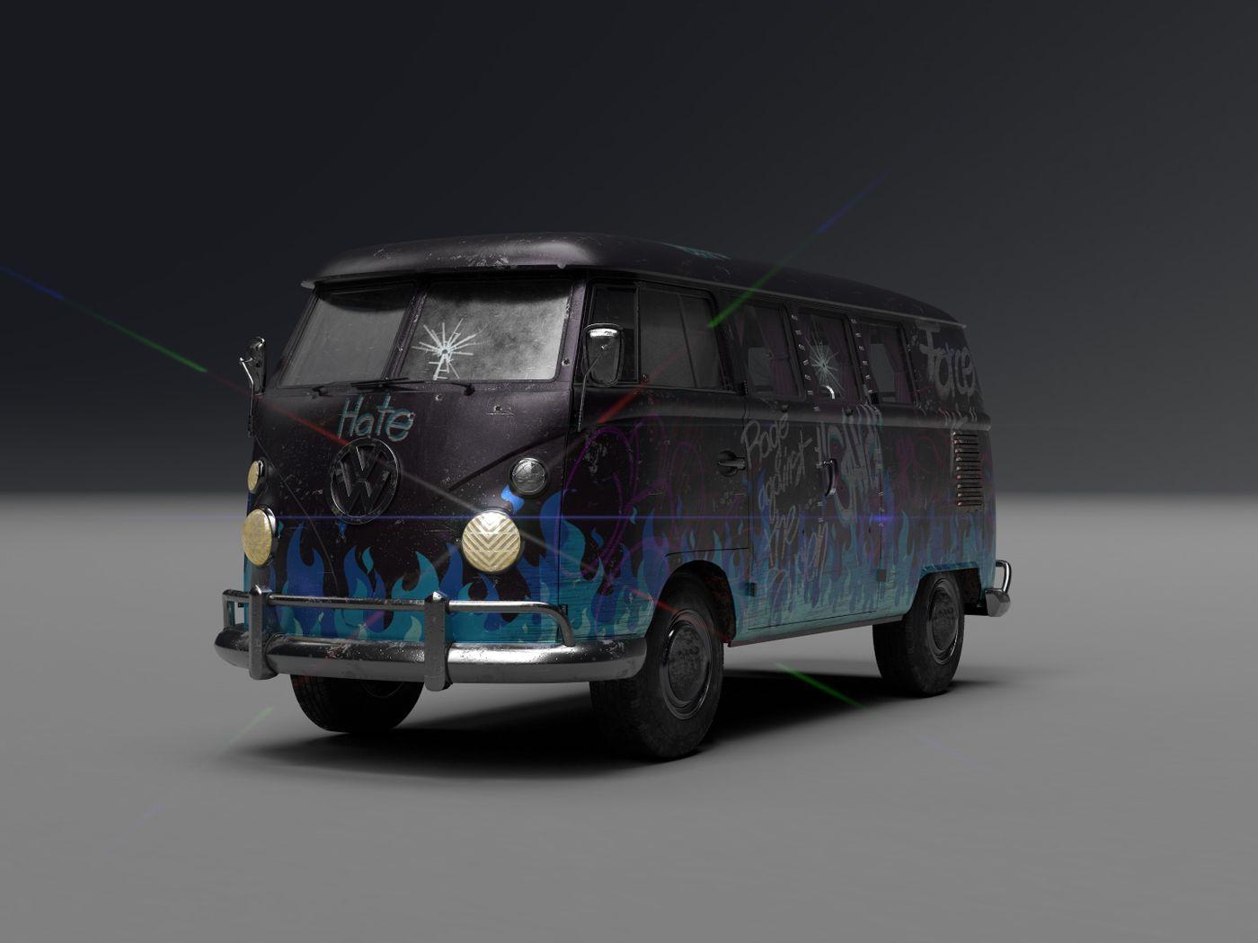 League of Villains' Van