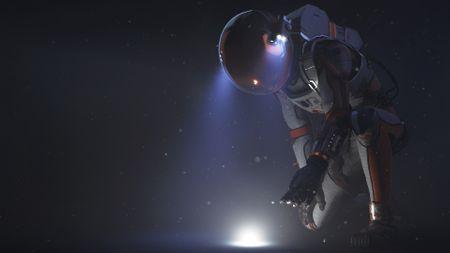 Watney - The Potato Astronaut