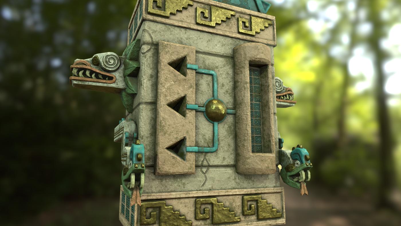 Aztec vending machine