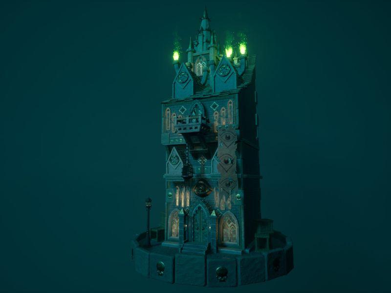 Gothic book shop