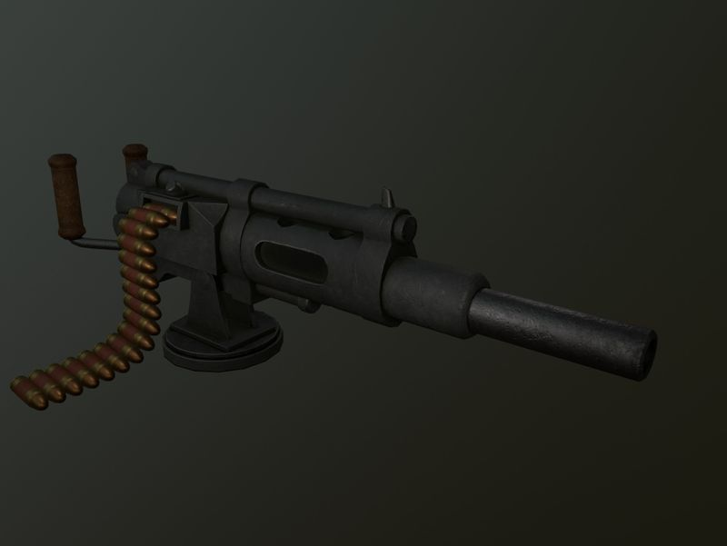 Tolmekian Machine Gun