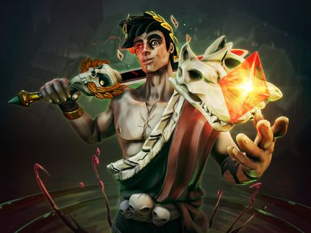 "Zagreus - ""Hades"" 3D Fan art"