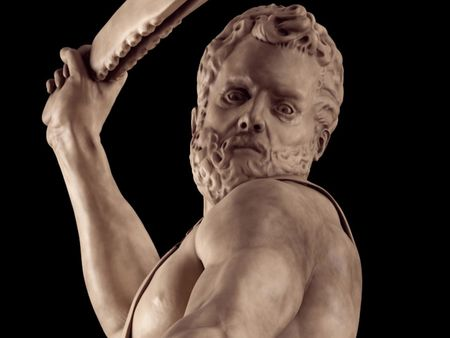 Samson Killing a Philistine