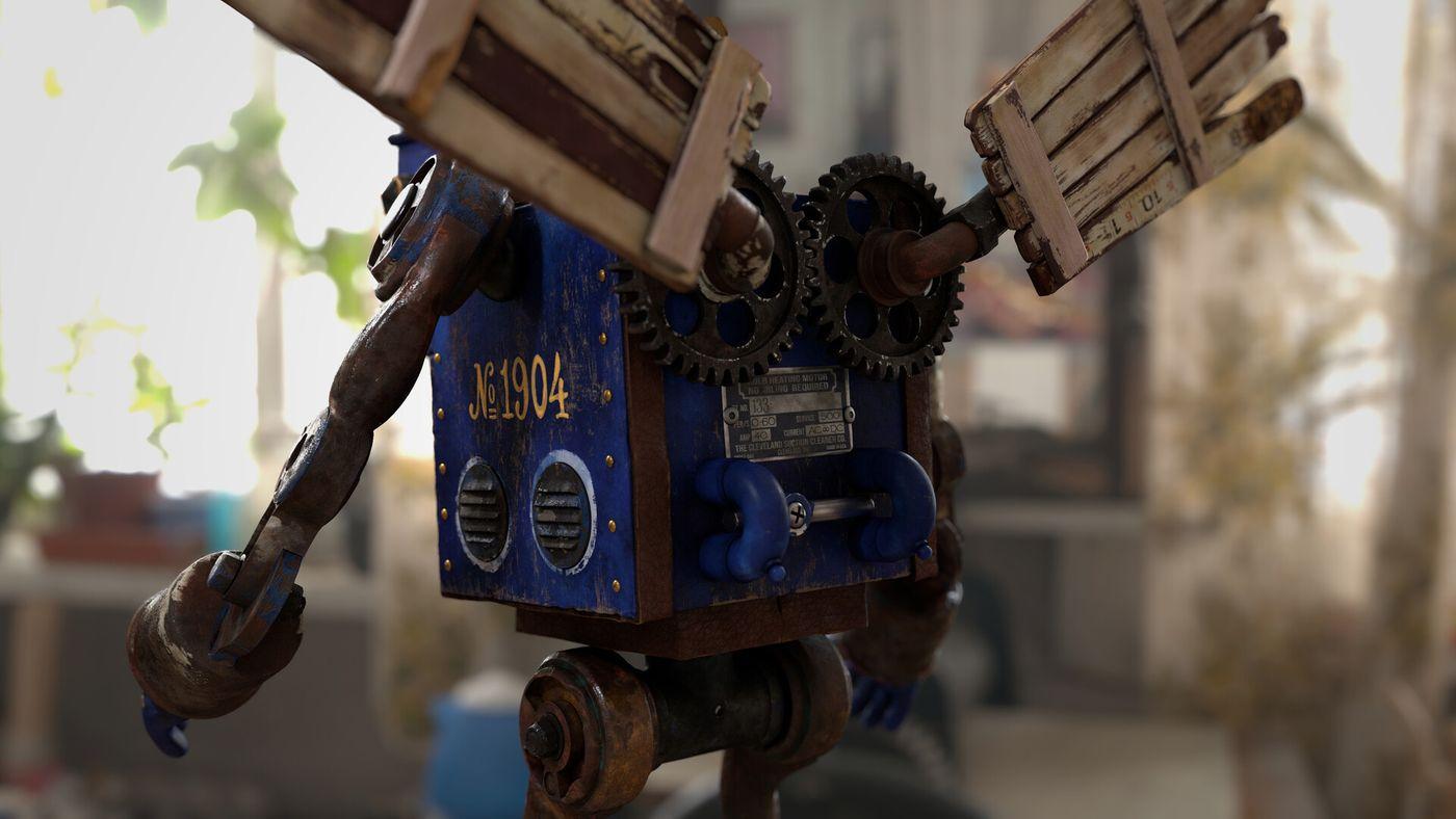 Erika Madsen Robot Butt Test Edit Emadsen