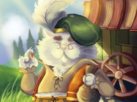 Barnaby, the Merchant Cat