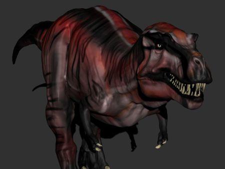 """""""Lammergeier"""" T-Rex Zbrush sculpt"""