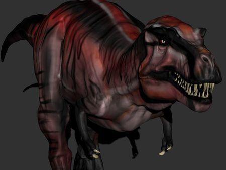 Lammergeier T-Rex - Zbrush Sculpt