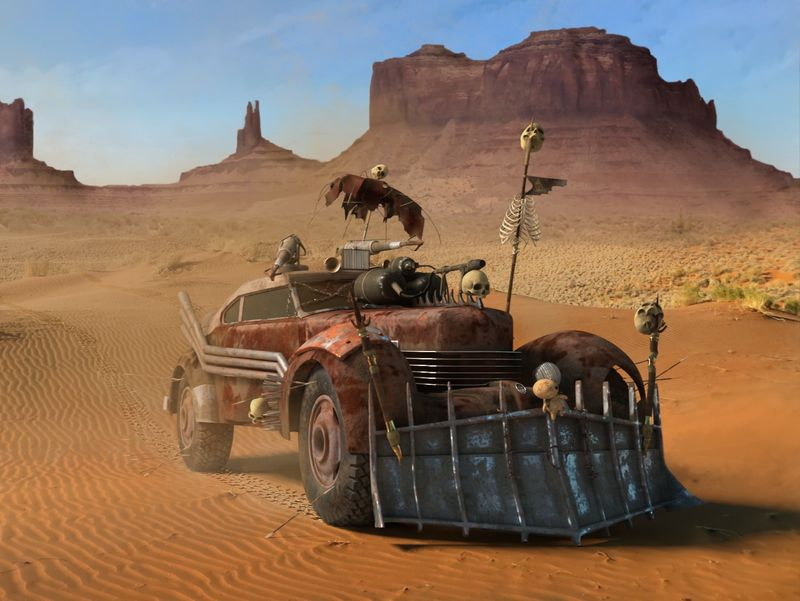 Inspiration Mad Max