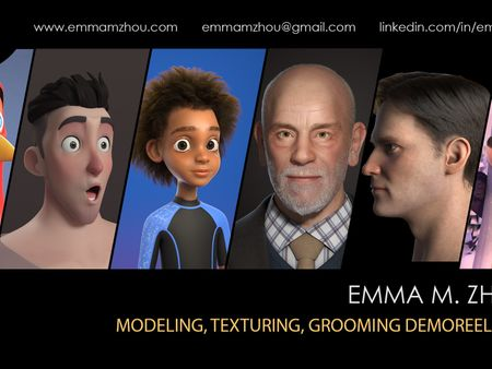 Emma Zhou's Demo Reel (2021)