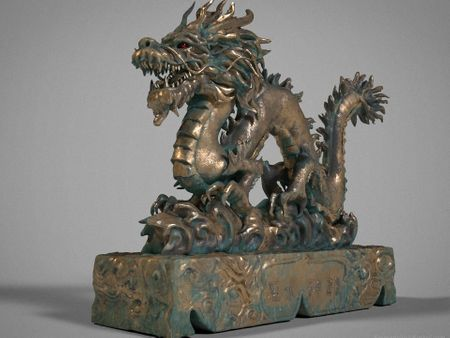 風水神龍 Fung Shui God Dragon Sculpture