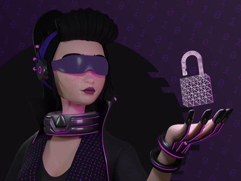 Hacker Pin-up