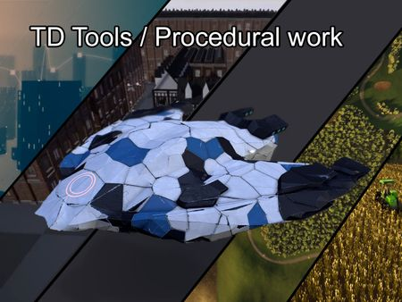 Emil Eldstål -     TD Tools / Procedural Work