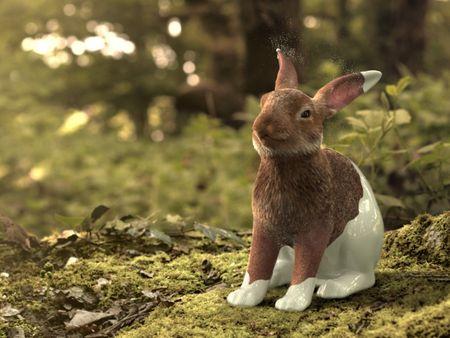 Houdini Rabbit Fur Groom Transformation