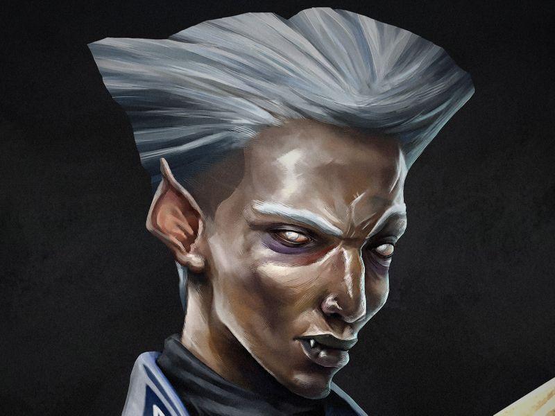 Vampire Character Design