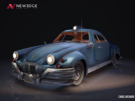Stylized Civilian Car