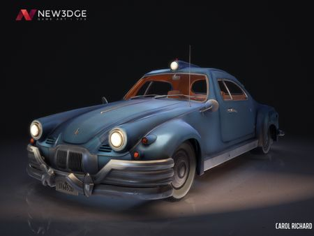 Stylized Civilian Car