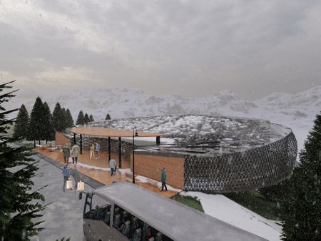 PERLA - Transit Station Project in Sinaia, Romania