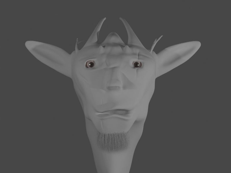 Elf Goat