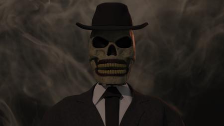 Skeleton in Suit