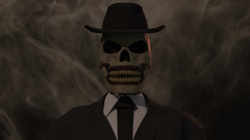 Skeleton in Suit