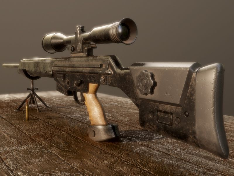 Sniper Rifle H&K PSG-1