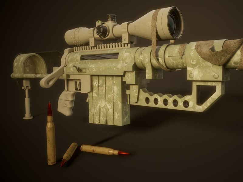 Cheytac Intervention M-200 Sniper Rifle
