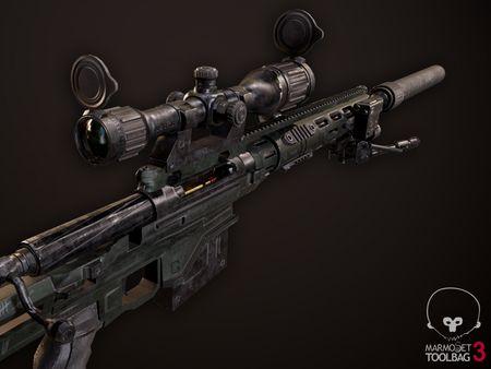 Remington MSR Sniper Rifle