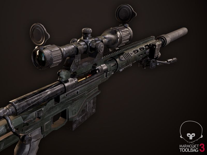 Remington MSR Sniper Rifle