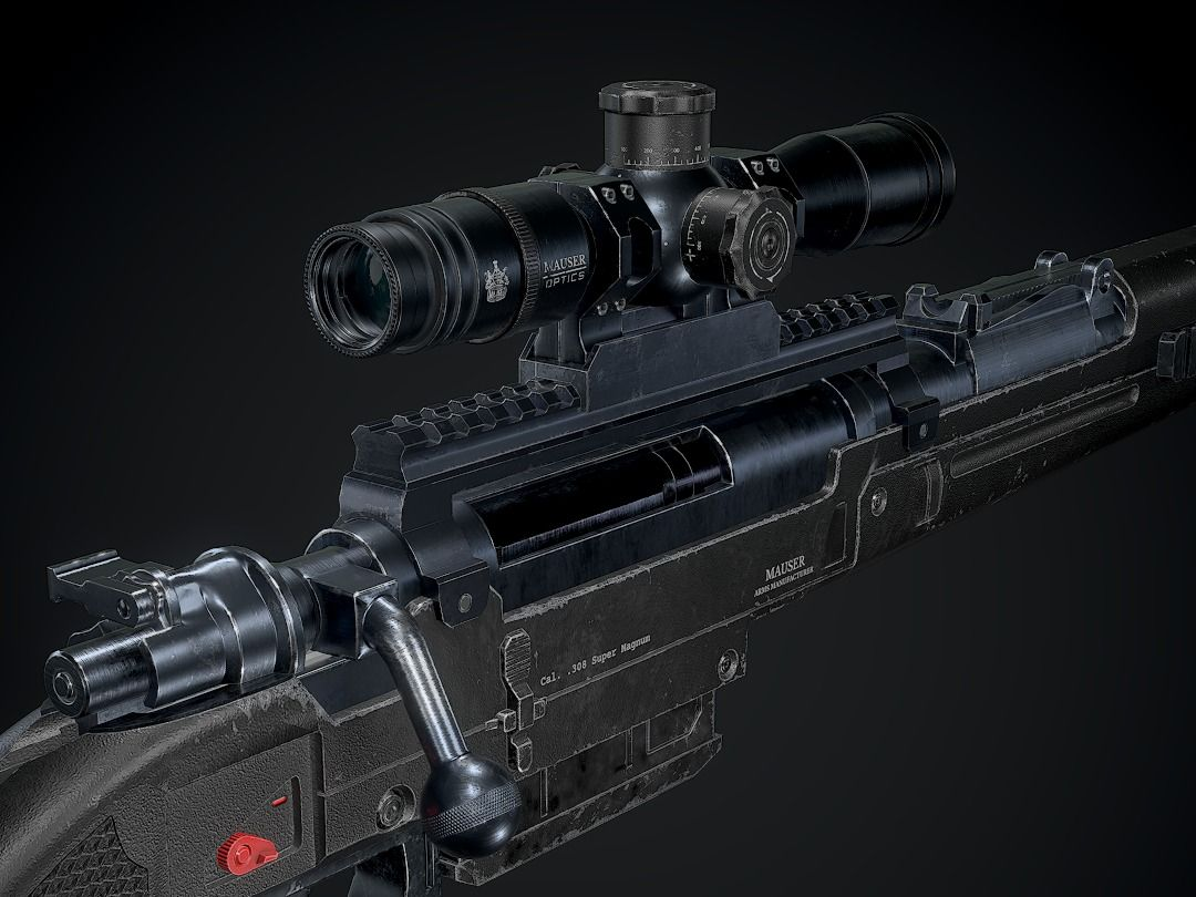 Modern Kar98-S Sniper Rifle