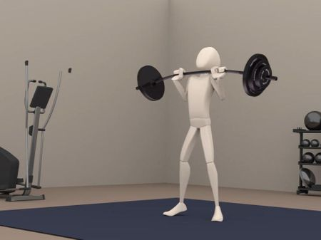 Body Mechanic | Weight Lifting Animation