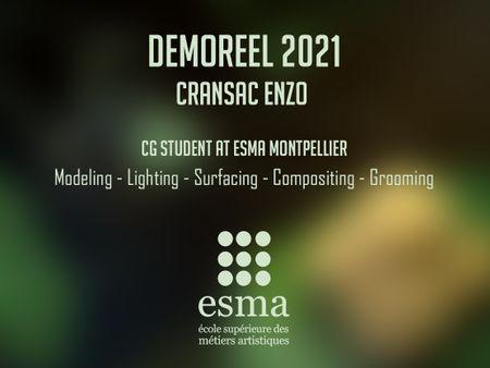 Student Demo Reel - Enzo CRANSAC
