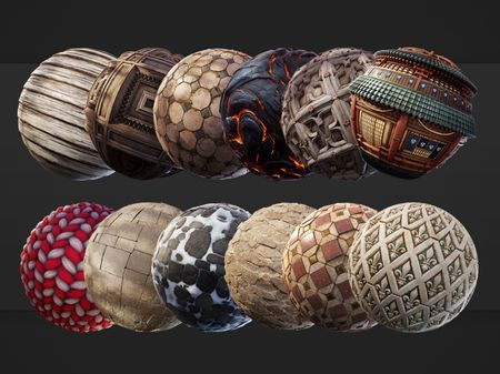 Substance Designer book: A year of materials
