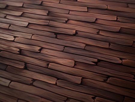 Stylized Wood Floor - Substance Designer