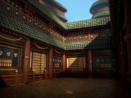 Japanese Architecture - Substance Designer