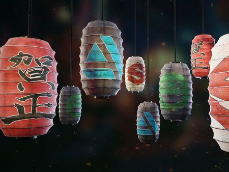 Paper Lantern - Substance Designer