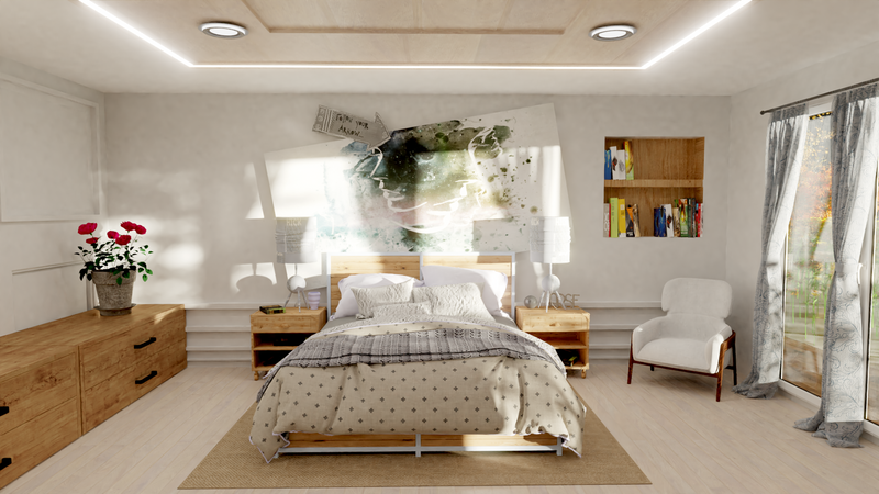 Bedroom Sunshine