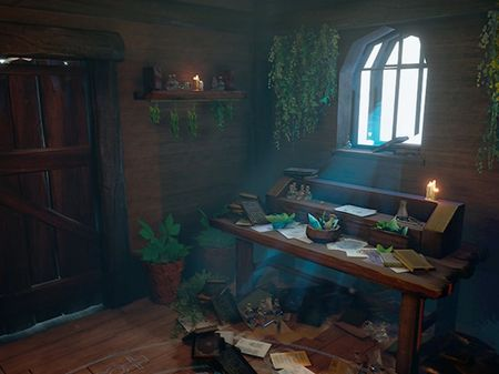 Alchemist's Potion Room