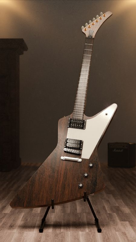 Gibson Explorer Guitar #WeeklyDrills 030