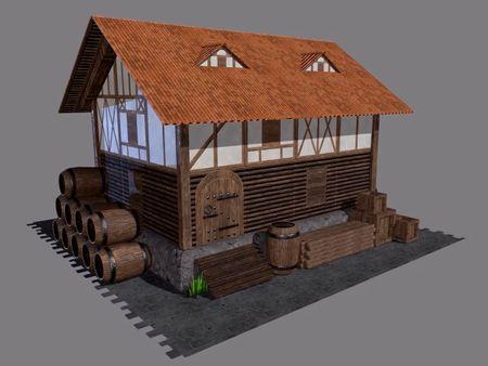 Medieval Village Textures
