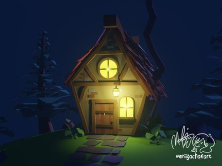 Low Poly Cottage