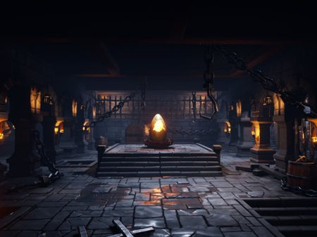 Stylized Dungeon