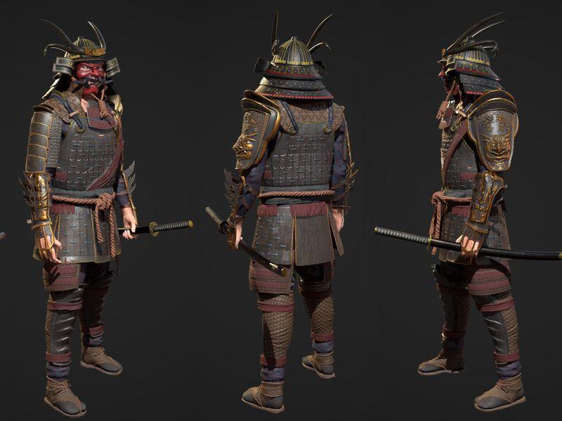 Takashi realtime Samurai
