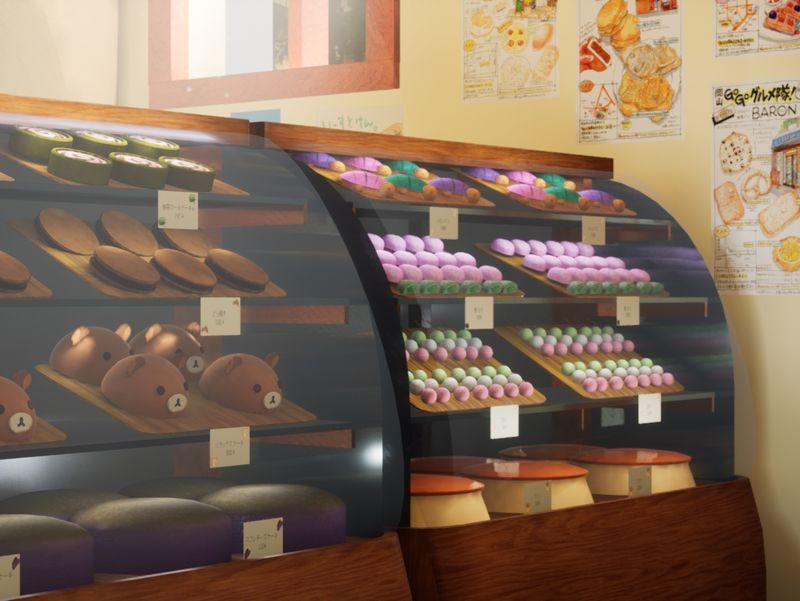 Japanese Bakery Diorama